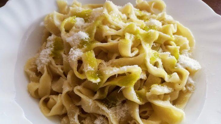 10分で誰でもできる簡単パスタ料理!パルミジャーノとオリーブオイルだけで本格イタリア料理!